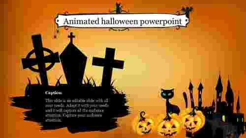animated halloween powerpoint template