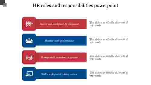 HR roles and responsibilities powerpoint