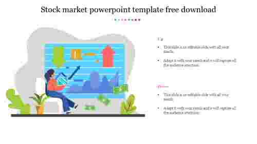 Best stock market powerpoint template free download
