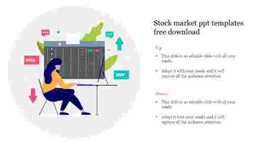 stock market ppt templates free download