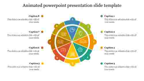 Best animated powerpoint presentation slide template