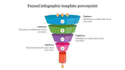 Best funnel infographic template powerpoint