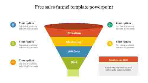 Free sales funnel template powerpoint with animation