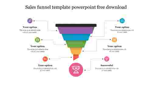Animation sales funnel template powerpoint free download