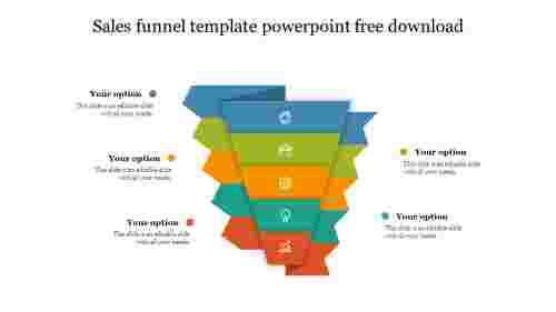 Best Sales Funnel Template Powerpoint Free Download