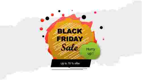 Black friday ppt template