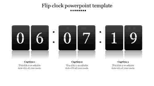 Best flip clock powerpoint template