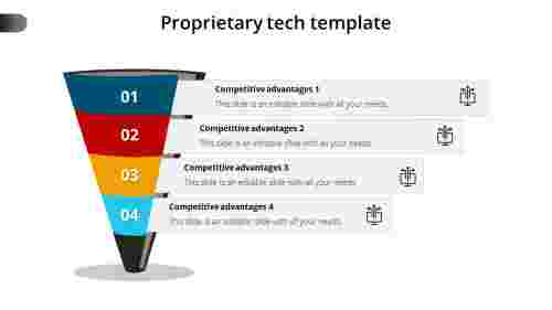 Proprietary tech template