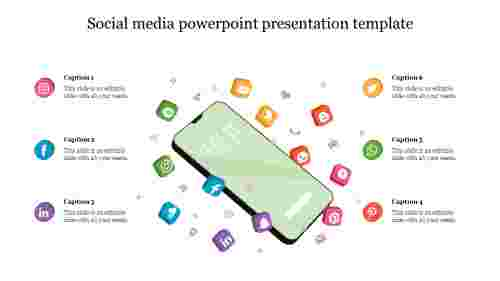 Best social media powerpoint presentation template