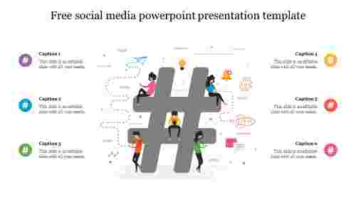 free social media powerpoint presentation template