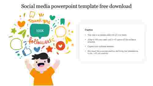 Best social media powerpoint template free download
