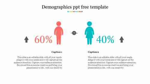 demographics ppt free template
