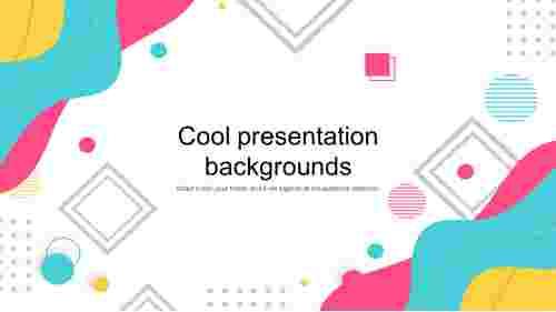 Cool presentation backgrounds design