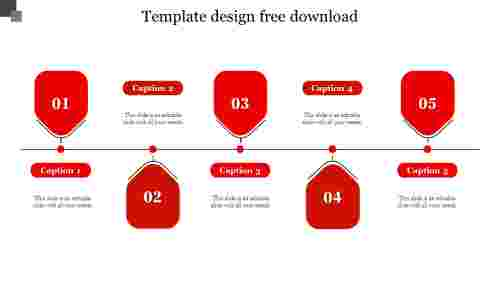 template design free download-Red