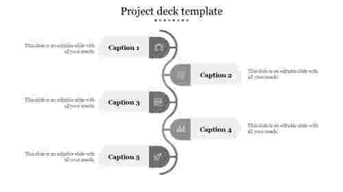 Project deck template-Gray