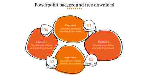 powerpoint background free download 2018-Orange