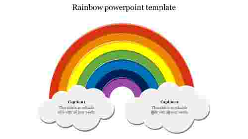 Rainbowpowerpointtemplate