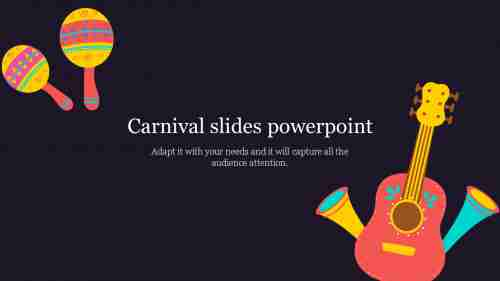 Free free Carnival slides powerpoint