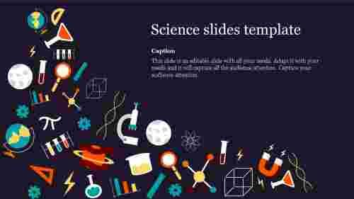 Best science slides template