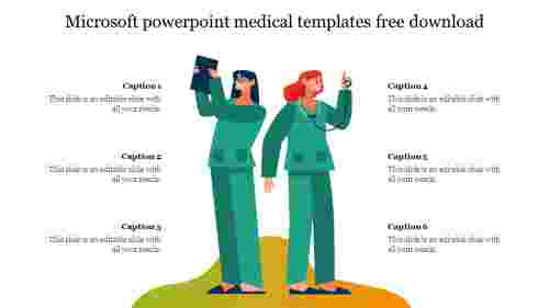Microsoft powerpoint medical templates free download slide