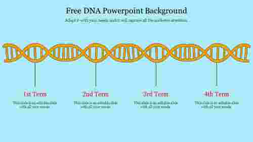 free dna powerpoint background