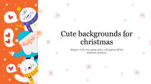 cute backgrounds for christmas