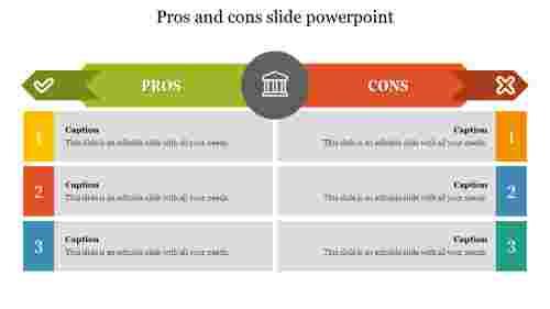 Editableprosandconsslidepowerpoint