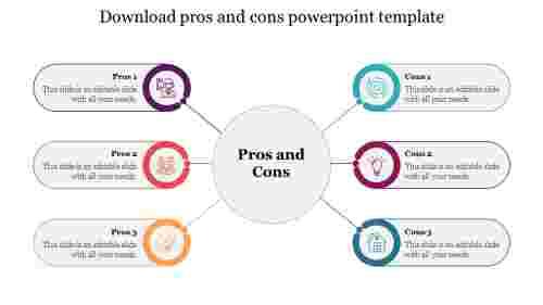 Downloadprosandconspowerpointtemplateslide