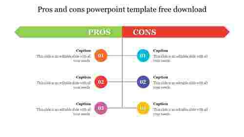 Editableprosandconspowerpointtemplatefreedownload