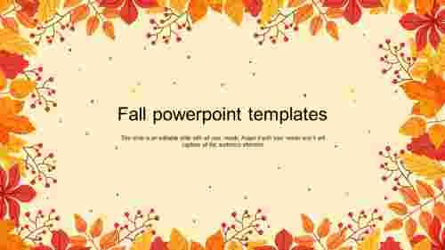 Creativefallpowerpointtemplates