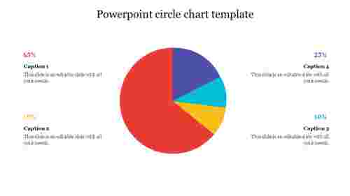 powerpoint circle chart template
