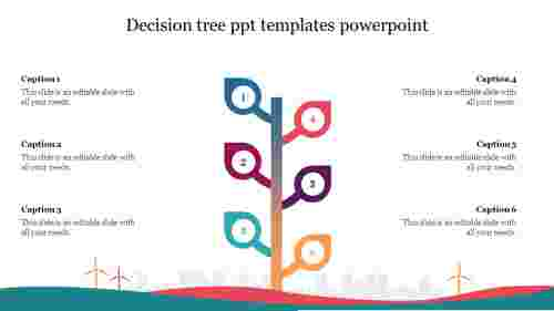 Editable%20Decision%20Tree%20PPT%20Templates%20PowerPoint