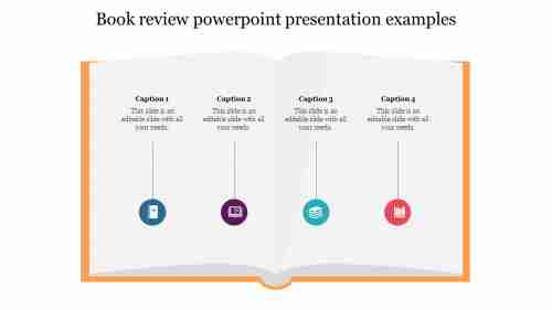 Book review powerpoint presentation examples slides