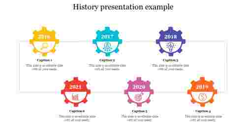 Historypresentationexamplewithgearshapes