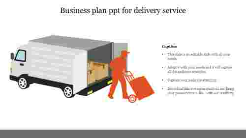 business plan ppt for delivery service