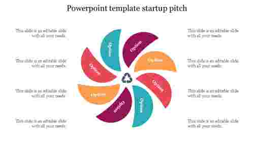 free powerpoint template startup pitch