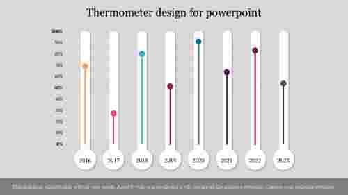 Thermometerdesignforpowerpointpresentation