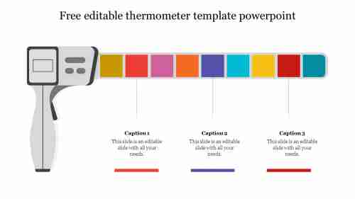 free editable thermometer template powerpoint