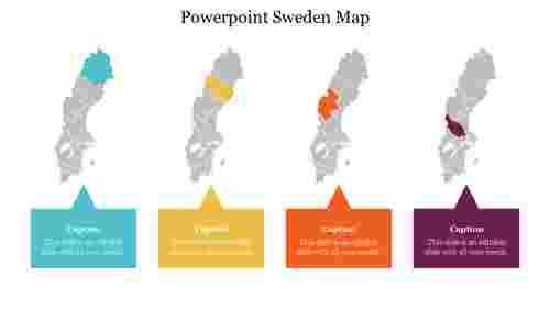 BestPowerpointSwedenMaptemplate