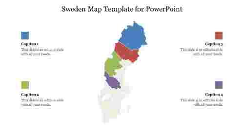 EditableSwedenMapTemplateforPowerPoint
