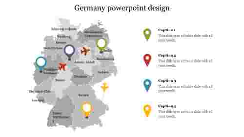 Germany powerpoint design