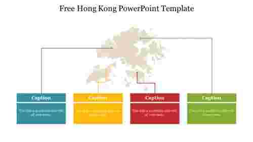 FreeHongKongPowerPointTemplatedesign