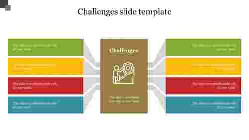 challenges slide template