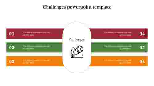 challenges powerpoint template free