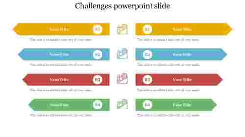 challenges powerpoint slide