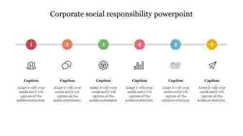 corporate social responsibility powerpoint template free