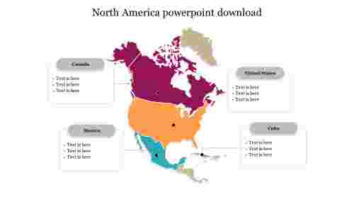 North America powerpoint download