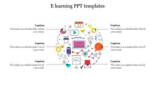 E learning PPT templates free