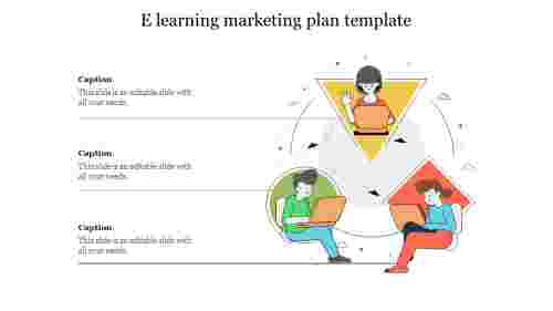 e learning marketing plan template