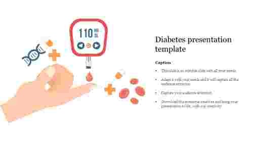 diabetes presentation template